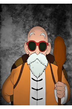Dragon Ball - Master Roshi - plakat