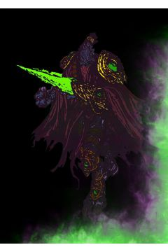 BlizzardVerse Stencils - Zeratul, the Dark Prelate, Starcraft - plakat