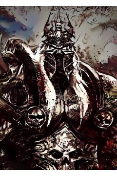 Legends of Bedlam - Arthas, Warcraft - plakat