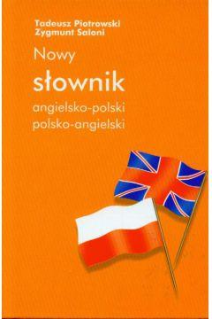 Znalezione obrazy dla zapytania Tadeusz Piotrowski Zygmunt Saloni Nowy słownik angielsko-polski i polsko-angielski