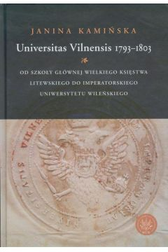 Universitas Vilnensis 1793-1803