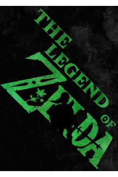 Typography Stencils - The Legend of Zelda - plakat