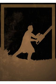 Dusk of Villains - Leatherface, The Texas Chainsaw Massacre - plakat