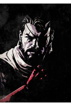 Metal Gear - Big Boss - plakat