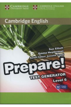 Cambridge English Prepare Test Generator Level 6