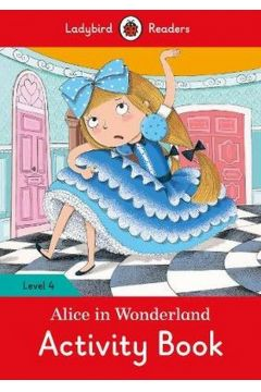 Alice in Wonderland Activity Book Level 4
