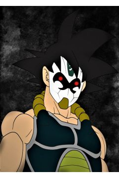 Dragon Ball - Bardock - plakat