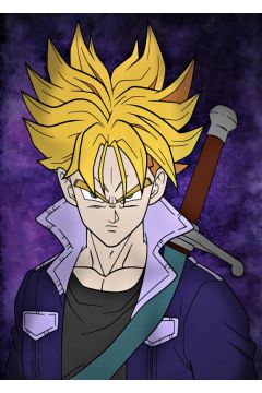 Dragon Ball - Trunks - plakat