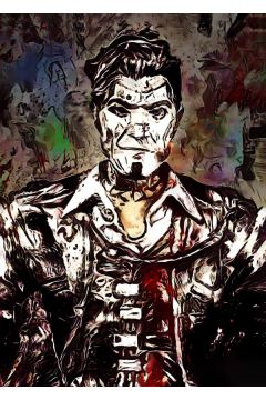 Legends of Bedlam - Handsome Jack, Borderlands - plakat