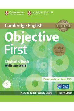 Objective First Student's Book with answers