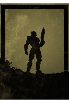 Dawn of Heroes - Masterchief, Halo - plakat