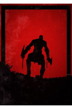 Dawn of Heroes - Kratos, God of War - plakat