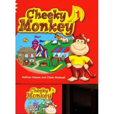 Cheeky Monkey 1 Pupil's Book with Multi-ROM