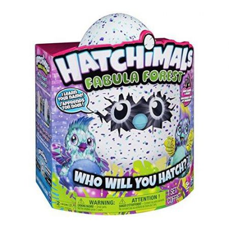 HATCHIMALS Jajko Fabula Forest Puffatto
