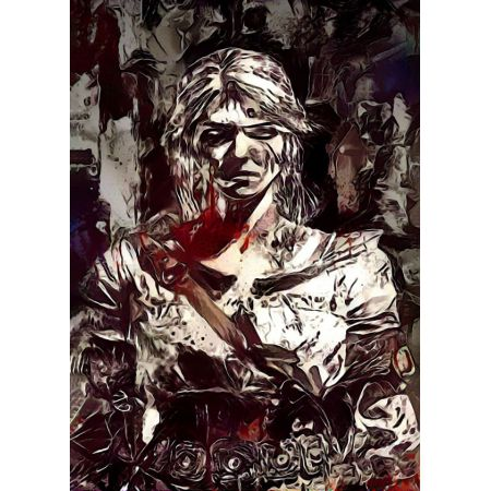 Legends of Bedlam - Ciri, Wiedźmin - plakat