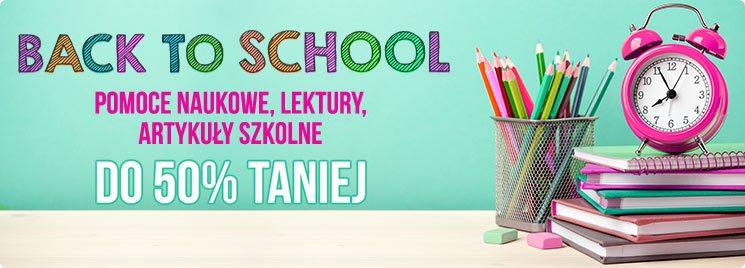 Back to School w TaniaKsiazka.pl