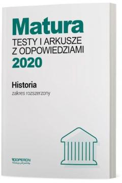 Matura 2020 Historia. Testy i arkusze. Testy i arkusze maturalne. Zakres rozszerzony