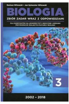 Biologia Zbiór zadań wraz z odpowiedziami Tom 3