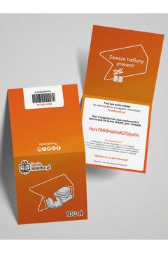 TanioKsiążkowy Bon Podarunkowy 100 zł - voucher prezentowy o wartości 100 zł