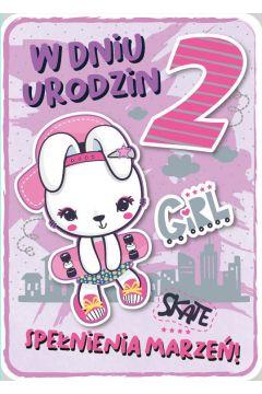 Karnet Urodziny 2 GM-684