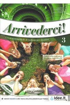 Arrivederci! 3 podręcznik + ćwiczenia + CD audio