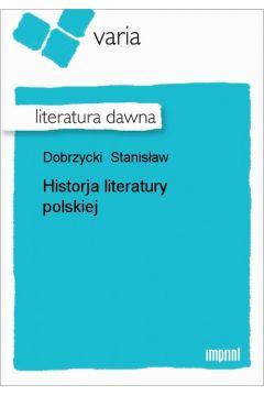 Historja literatury polskiej