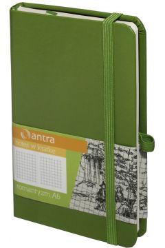 Notes A6 Kratka Romantyzm Zielony ANTRA