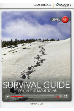 Survival Guide Lost in The Mountains Book with Online Access