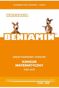 Matematyka z wesołym Kangurem. Beniamin