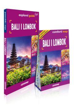 Bali i Lombok 2w1 przewodnik light + mapa