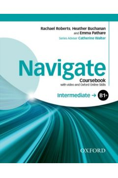 Navigate Intermediate B1+ Coursebook with DVD...