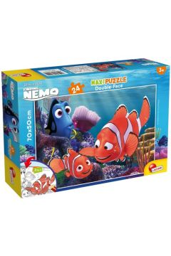 Puzzle dwustronne maxi 24 el. Gdzie jest Nemo