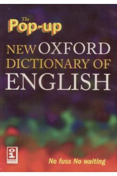 The Pop-up New Oxford Dictionary of English