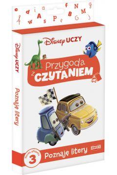 Disney uczy Filmy Przygoda z Czytaniem Poznaję litery PCK-2