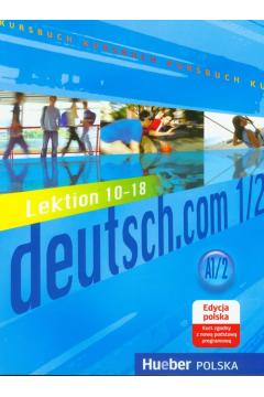 Deutsch.Com 1/2 podrÄ™cznik PL
