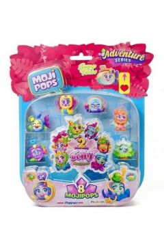 MojiPops Adventure Blister 8 Pack Sparkling