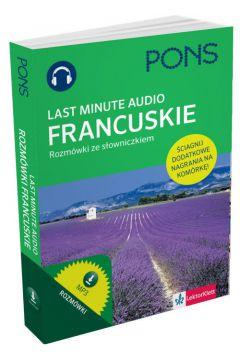 Last Minute audio. Francuskie rozmówki PONS