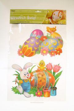 Ozdoba Wielkanocna Zajączki z przyssawką