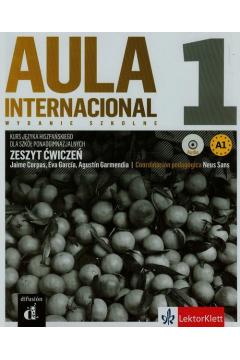 Aula Internacional 1 zeszyt ćwiczeń + CD