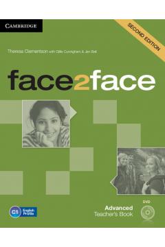 face2face Advanced Teacher's Book + DVD