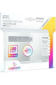 Gamegenic: Matte Value Sleeving Pack (66x91 mm) 200 sztuk