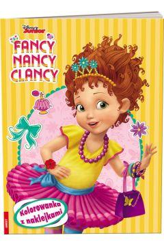 Fancy Nancy Clancy. Kolorowanka z Naklejkami