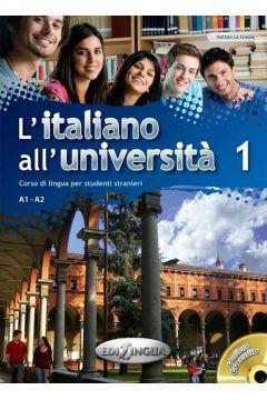 Italiano all'Universita 1 podr. + ćw.+ CD
