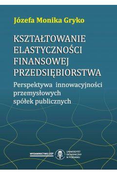 Kształtowanie elastyczności finansowej przedsiębiorstwa. Perspektywa innowacyjności przemysłowych spółek publicznych
