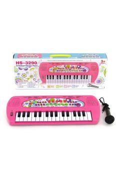 Organki 32 klawiszy + mikrofon w pudełku 509634