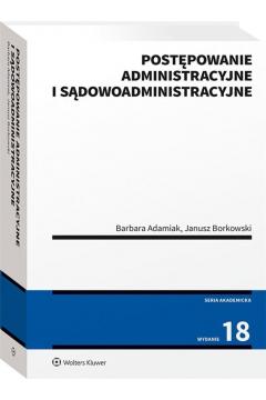 Postępowanie administacyjne i sądowoadministracyjne