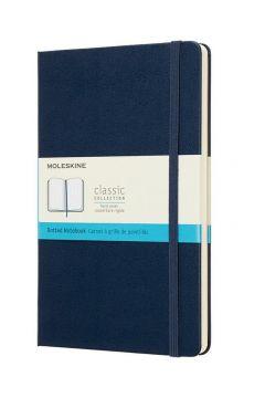 Notes Classic 13x21 tw. kropki szafirowy