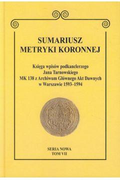 Sumariusz metryki koronnej Tom VII