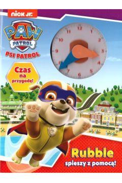 Rubble spieszy z pomocą Psi Patrol czas na przygodę