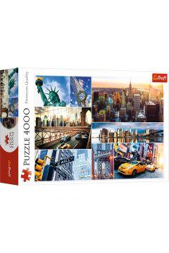 Puzzle 4000 Nowy Jork Kolaż TREFL